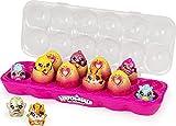 Hatchimals 6054178 CollEGGtibles, Limmy Edish Glamfetti Paquete de 12 cajas de huevos con 12 exclusivos, multicolor , color/modelo surtido