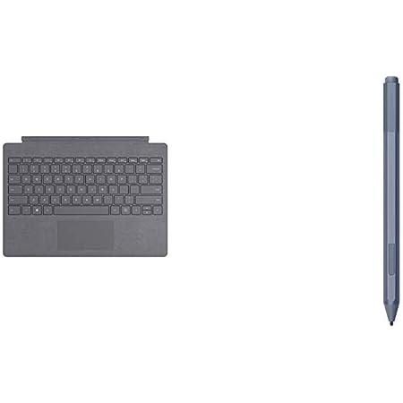 Microsoft Surface Pro Signature - Funda con Teclado, Plata + Surface Pro Pen - Lápiz Platino