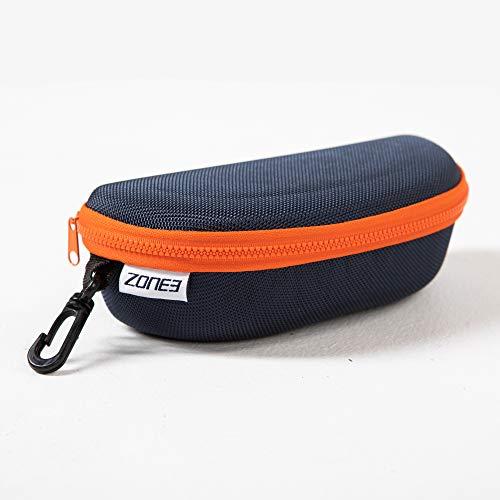 ZONE3 Schwimmbrillenetui, Marineblau/Orange, Einheitsgröße