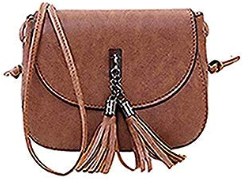 Bloomerang Crossbody Bags for Women Leather Tassel Handbags Shoulder Bags Handbag Tote Girl Mini Purse Hasp Zip Solid Soft color Ct Mini(Max Length 20cm)