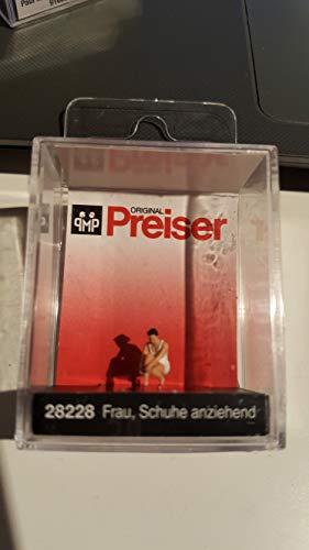 Preiser 28228 Frau Schuhe anziehend 1:87
