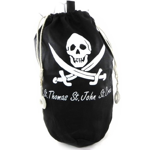 Les Trésors De Lily [H4817 - Sac Marin polochon 'Pirate' Noir