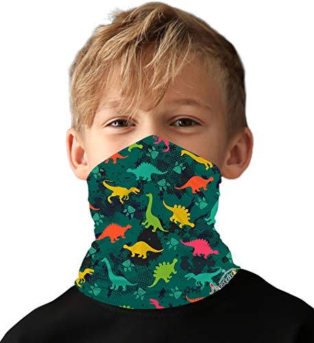Little Boys Face Ski Mask Running Bandanas Sport Neck Gaiter UPF 50+ Sun Mask Scarf for Girl