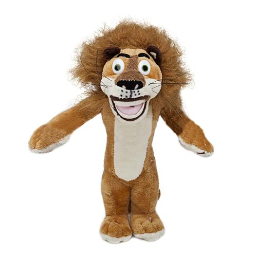 Movie Character About Madagascar Lion Alex Plush Toy Soft Doll Baby Toy Birthday Gift 35cm