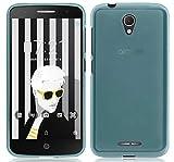 Tumundosmartphone Funda Gel TPU para ALCATEL Pop 4+ Plus Color Azul