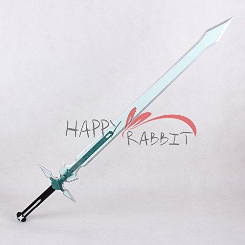 『ソードアート・オンライン Sword Art Online SAO桐ヶ谷 和人 キリト 白剣C★コスプレ 武器 道具』の2枚目の画像