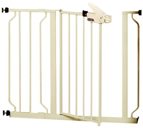 5 X Regalo Easy Step Walk Thru Gate, White