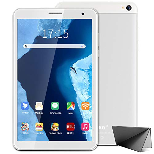 Tablet 8 Inch Android 10 Tablet PC, 3 GB RAM 32 GB ROM/128 GB, Quad-Core, 1280 x 800 IPS HD Display, 5MP Rear Camera, 5000 mAh, Type C, WiFi, Bluetooth, Netflix, Youtube, Google Play
