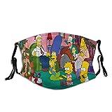 The Simpsons - Juego de supervivencia transpirable a prueba de polvo para hombre y mujer