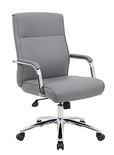 Boss Office Products Chairs Executive Seating, Grey
