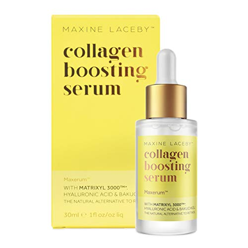 Absolute Collagen Boosting Serum With Bakuchiol & Hyaluronic Acid- The Ultimate Anti Aging & Anti Wrinkle Moisturising Face Serum