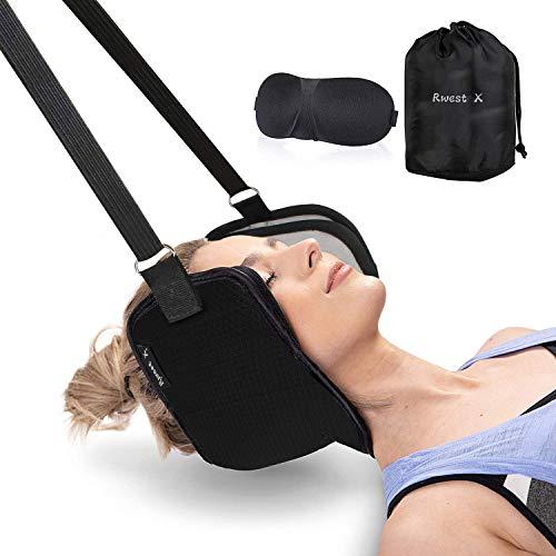 Neck Hammock|Hals Hängematte|Nackenhängematte|Kopf Nackenmassagegerät für Chronische Nacken und Schulterschmerzen|Bessere Hals Relax Für Büro Haus für Männer Frauen|Tragbare Schmerzlinderung