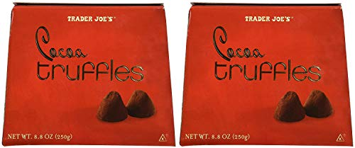 Trader Joes Cocoa Truffles....8.8 Oz. Box Pack of 2