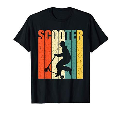 Scooter Stunt Tretroller Geschenkidee für Kinder & Teenager T-Shirt