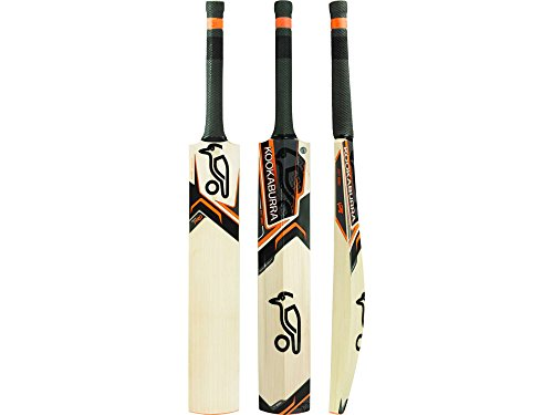 KOOKABURRA Onyx Pro kurzer Griff Cricket Bat, Unisex, Onyx Pro Short Handle, Orange