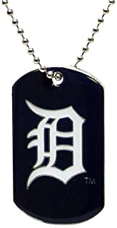 aminco Detroit Tigers - MLB Enameled Logo Dog Tag Necklace