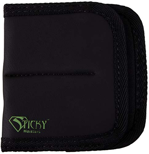 "STICKY HOLSTERS - Dual Super Mag - ""A"" Frame Concealed Double Stack Ammunition Magazine Pouch For Extra Ammunition"