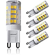 LAMPAOUS G9 LED Bulb 5W Corn Light Bulbs