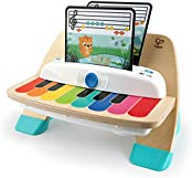Baby Einstein and Hape Magic Touch Piano Wooden Musical Toddler Toy, Age 6 Months and Up