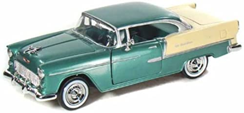 promociones de equipo 1955 Chevy Bel-Air 1 24 verde by Collectable Collectable Collectable Diecast  buen precio