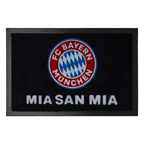 Bayern München deurmat - Mia san mia - deurmat logo, voetenveger, afveegmachine compatibel FCB - Plus bladwijzer I Love München