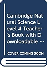 Cambridge Natural Science. Teacher's Book.  with Downloadable Audio. Level 4