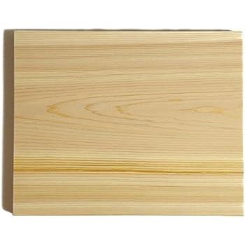専門店のひのきまな板 300×240×30mm