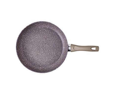 BRANDANI 54031Granitium Pfanne aubergine withthermopoint Griff Durchmesser 24cm, violett