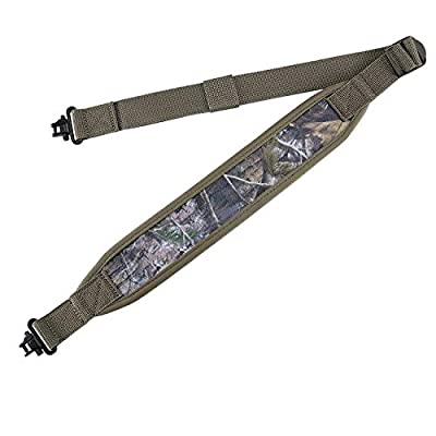 BOOSTEADY Two Point Traditional Sling with Swivels,Durable Shoulder Padding Strap, Metal Hardware Length Adjuster
