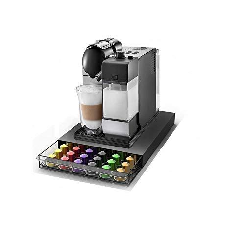 Abeba Tavola Swiss 5049036 Cassetto - Dispenser per 60 Capsule Nespresso, in plastica, 39 x 28 x 4,5 cm, Multicolore