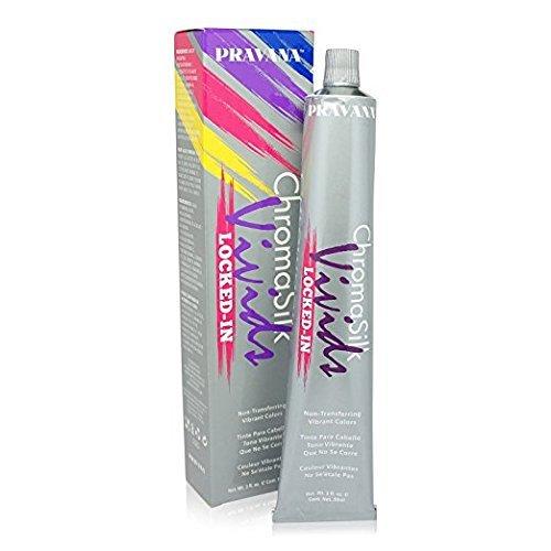 PRAVANA CHROMASILK VIVID - Locked-in Hair Color - Pink 90 ml (Haartönung Färbung Farbe Colour Dye)