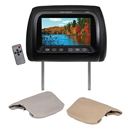 "Power Acoustik H‐78CC Universal Replacement Headrest Monitor, 7"""