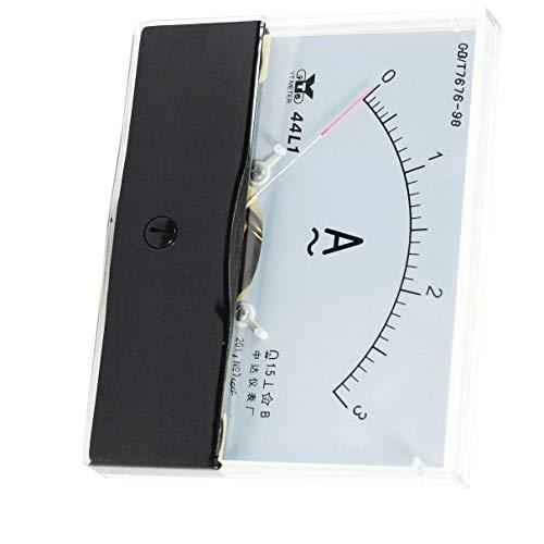 Aexit Messung Analog Amperemeter AC 0-3A Messgerät, Messbereich 44L1
