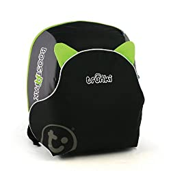 QUICKLY TRANSFORMS – Kid's bag to portable booster cushion in seconds (featuring internal hard shell and fold out seatbelt guides) AVOID HIRE CHARGES - On fly drive holidays! Can also be used as dining, cinema or stadium booster to see the action HAN...