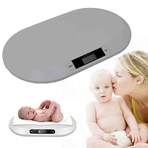Elektronische Babywaage, digital, 20 kg, Weiß