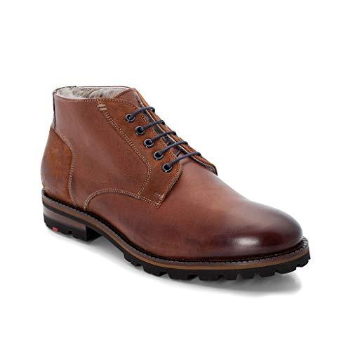 LLOYD Herren Desert Boots Homer, Männer Stiefeletten,Stiefel,Halbstiefel,Schnürboots,Bootie,gefüttert,Winterstiefel,Kenia/Cigar,8 UK / 42 EU