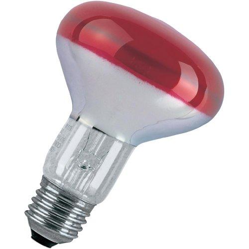 Glühlampe EEK: E (A++ - E) Paulmann E27, 60 W COLOR-REFLEKTORLAMPE 25061 E27 Leistung: 60 W Rot 60 kWh/1000h