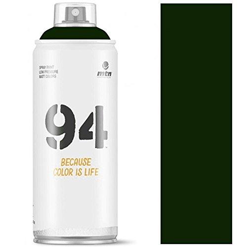 Pintura en spray MTN 94 R-6009 Mate Verde Amazonas 400ml