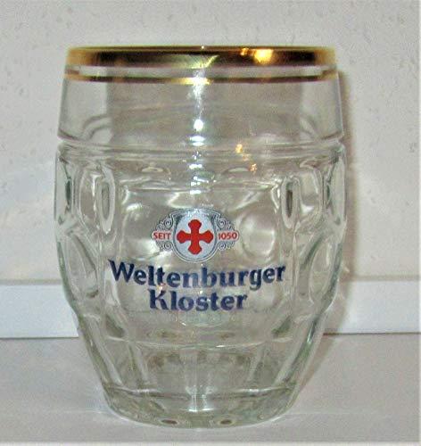 Weltenburger / Kloster Kugel-Seidel/Bierglas / 0,5 Liter/Gläser