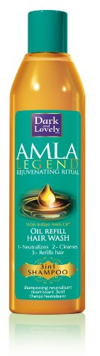 Dark & Lovely Amla L Oil Refill hair Wash 3in1 Shampoo 250ml