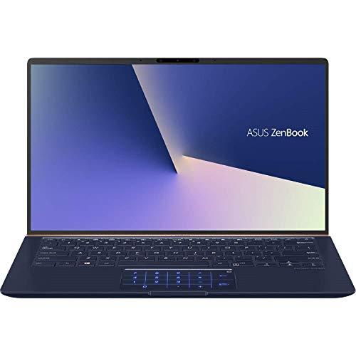 ASUS ZenBook 14 UX433FA Ultra-Slim Home and Business Laptop (Intel 8th Gen i7-8565U Quad Core, 16GB RAM, 1TB Sata SSD, 14' FHD 1920x1080 NanoEdge Bezel, Backlit, Win 10 Pro) Royal Blue