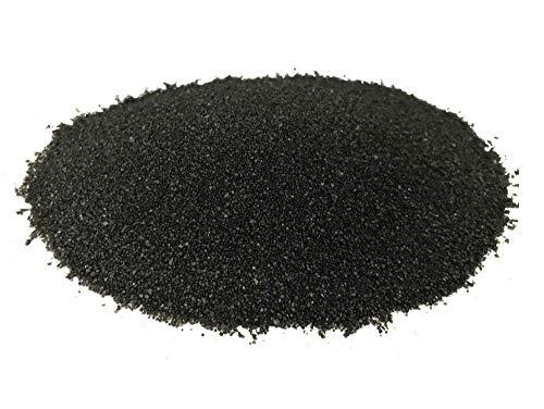Amtra Deko 5 Kg schwarzen Aquariensand \'Premium Qualität\' 0,3-0,9mm Bodengrund Aquariumsand