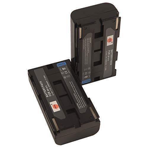 DSTE - Batería de repuesto para cámaras Canon BP-915 C2 DM-MV1 DM-MV10 E1 E2 E30 FV1 FV500 Ultura V40 V420 ES410 UC-X2Hi UC-X30Hi UC-X45Hi (2 unidades)
