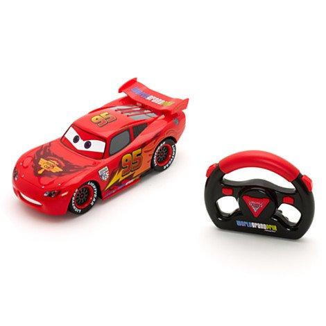 Voiture télécommandée Disney Cars 2 Lightning Mc Queen