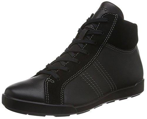 Ecco, Damen Crisp II Hohe Sneakers, Schwarz (BLACK51052), 40 EU