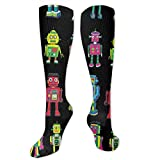 zhouyongz Robot Line-Up - Calcetines de entrenamiento para hombre y mujer