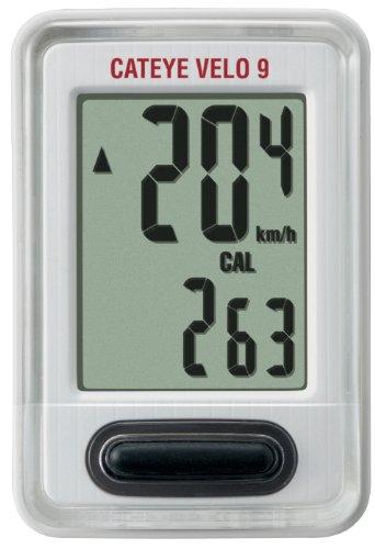 CatEye Velo9 CC-VL820 - Cuentakilómetros, Color Blanco