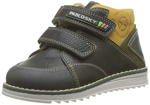 Pablosky 064781, Botas Bebés, Negro Negro Negro