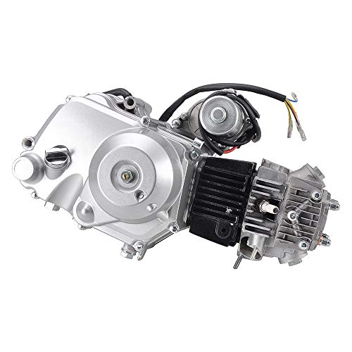 MotorFansClub (Automatic Transmission) 110CC Go Kart Engine Motor Fit for Compatible with 4-Stroke 50CC 70CC 90CC 110CC Go Kart ATVs