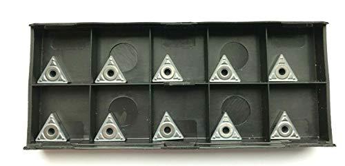 10 placas reversibles TNMG 110304 – Calidad Cermet